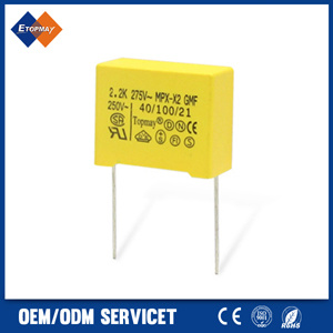 104 K275V Metallized Polypropylene Film X2 Capacitor (TMCF18)