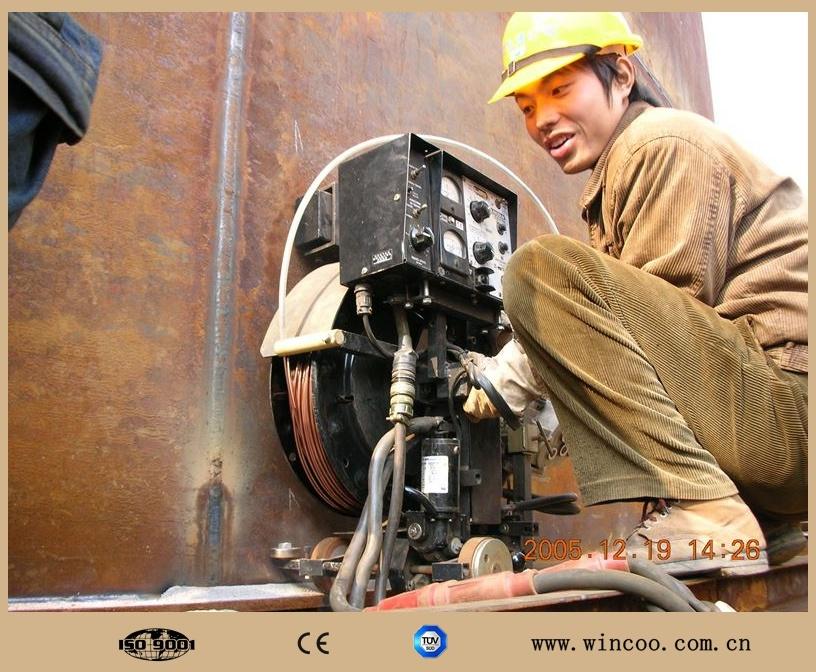 Tank Plate Welding Machine/High Efficiency Tank Bottom Welding Machine