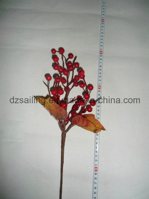 Autumn Coloration Berry Artificial Flower for Home Decoration (SHL15-G010)