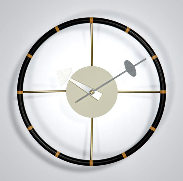 George Nelson Wall Clock Wheel Clock