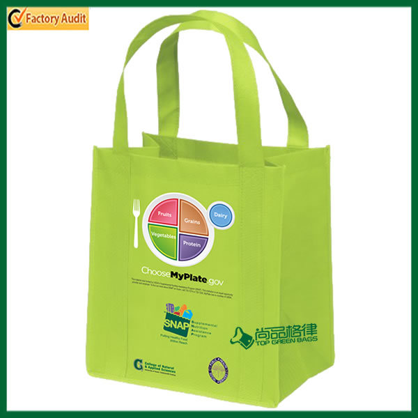 Custom Recycle Personalized Non Woven Shopping Bag