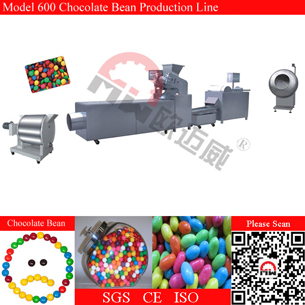 Confectionery Production Chocolate Bean Candy Making Line