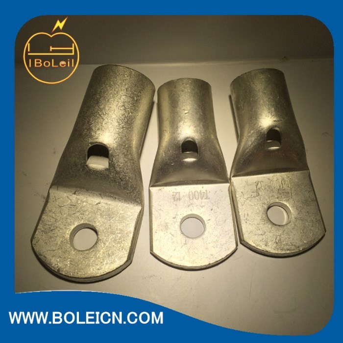 Electro Tin Plated Copper Non-Insulated Copper Lugs