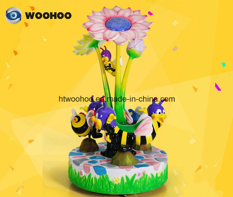 Coin Operated Machine Indoor Playground Super Bee Merry-Go-Round Whirligig