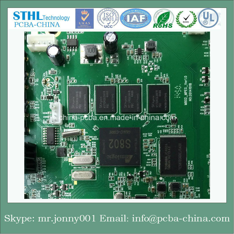 Fr4 Contracted Circuit PCB PCBA Main Board for Electronics, PCBA Circuit Board