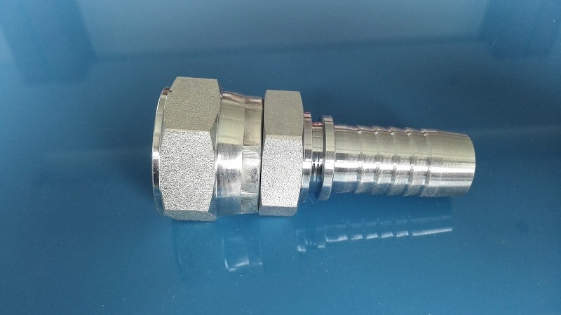 Bsp Female Double Hex Hose Fitting Straight