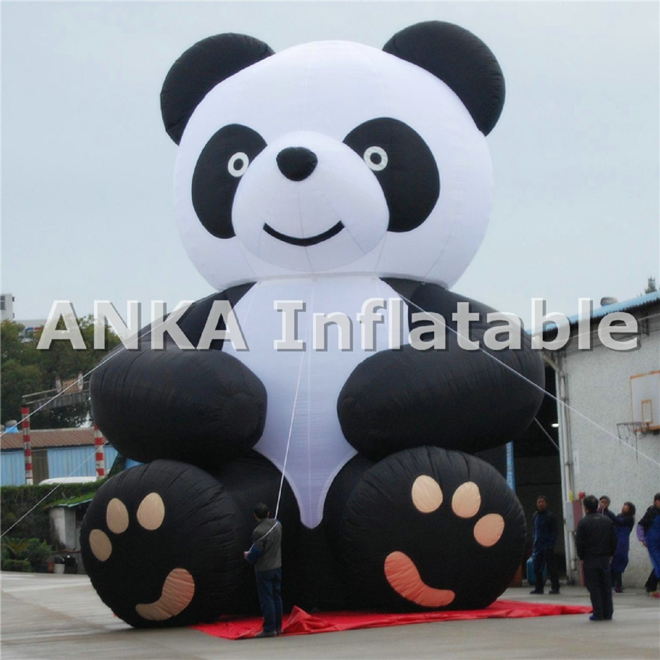 Anka Giant Inflatable Kongfu Panda Cartoon on Sale