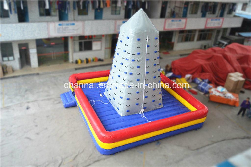 Crazy Inflatable Climbing Mountain, China Inflatable Hook & Loop Climbing (chsp307)