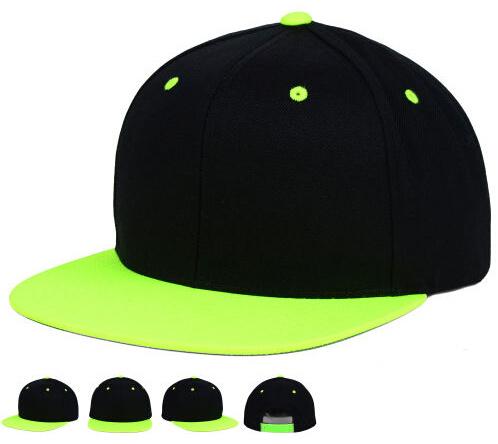 Blank Plain Custom Embroidery Two Tone Basketball Snapback Hat