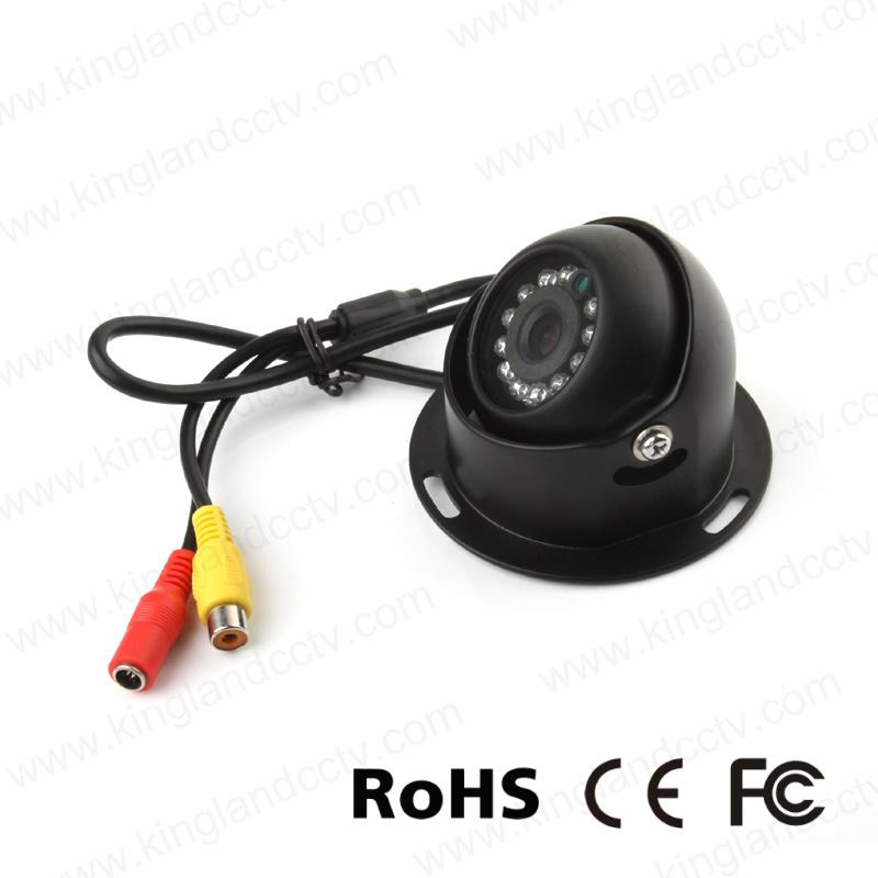 Mini Aluminum IR Dome Camera for Vehicle