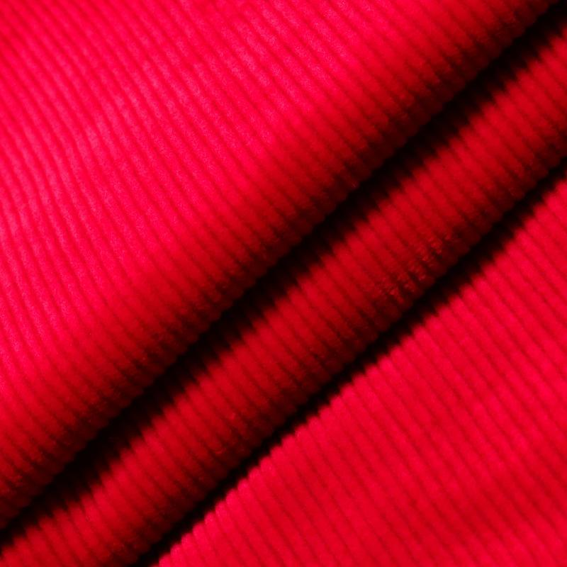 Soft Cotton Spandex Corduroy Fabric for Garment