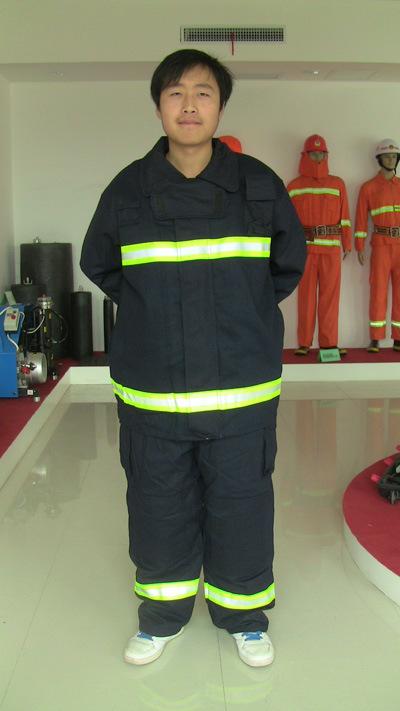 En Standard Four Layers Fireman Suit Fire-Fighting Equipment