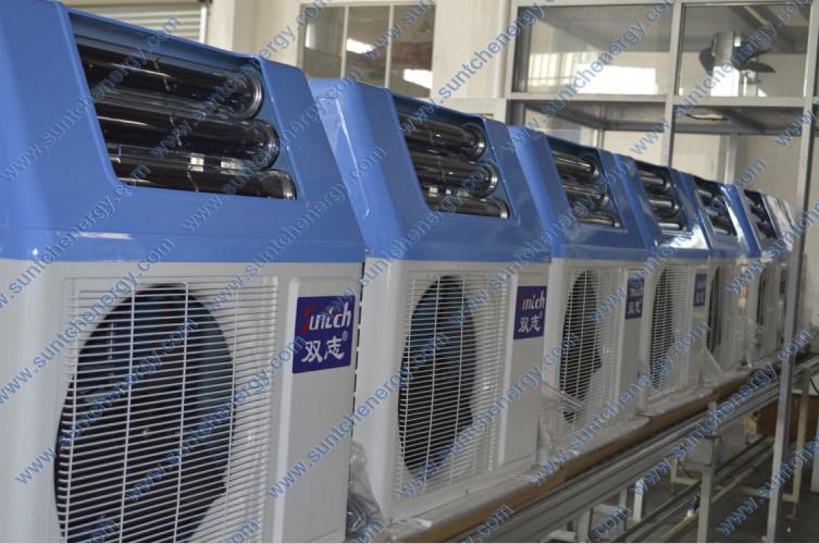 Sweden -25c Winter Area Floor Heating Room +55c Hot Water Dhw 12kw/19kw/35kw Evi Air Source Heat Pump Monobloc