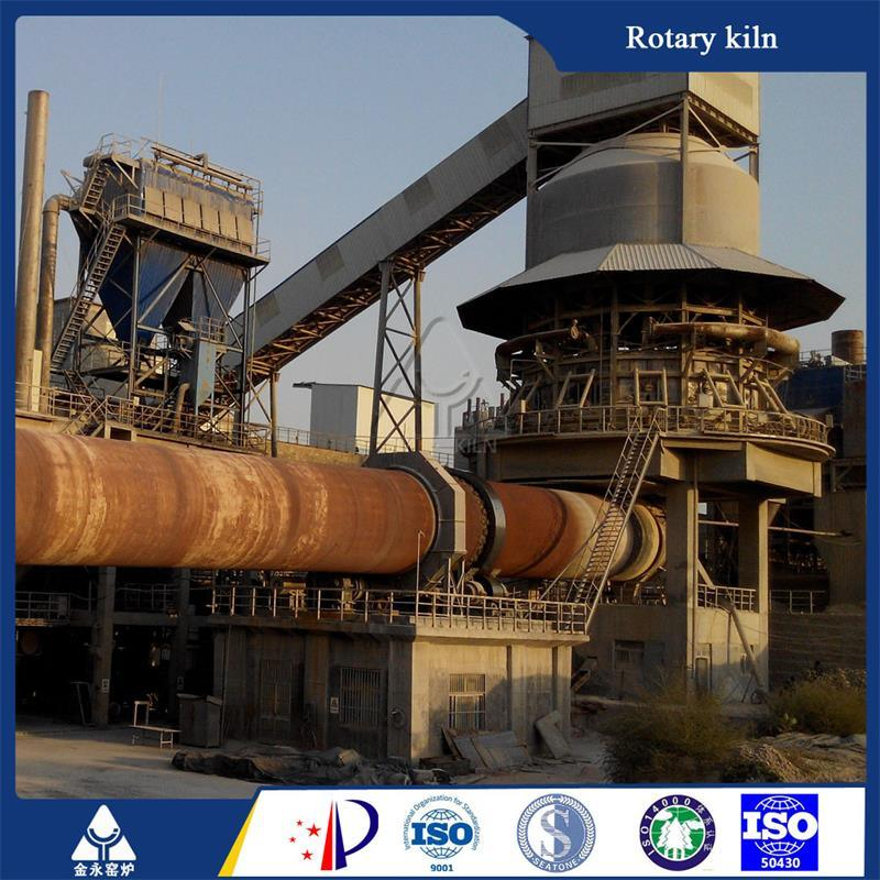 Energy-Saving Lime Calcination Plant Rotary Kiln with 100-600 Tpd Capacity