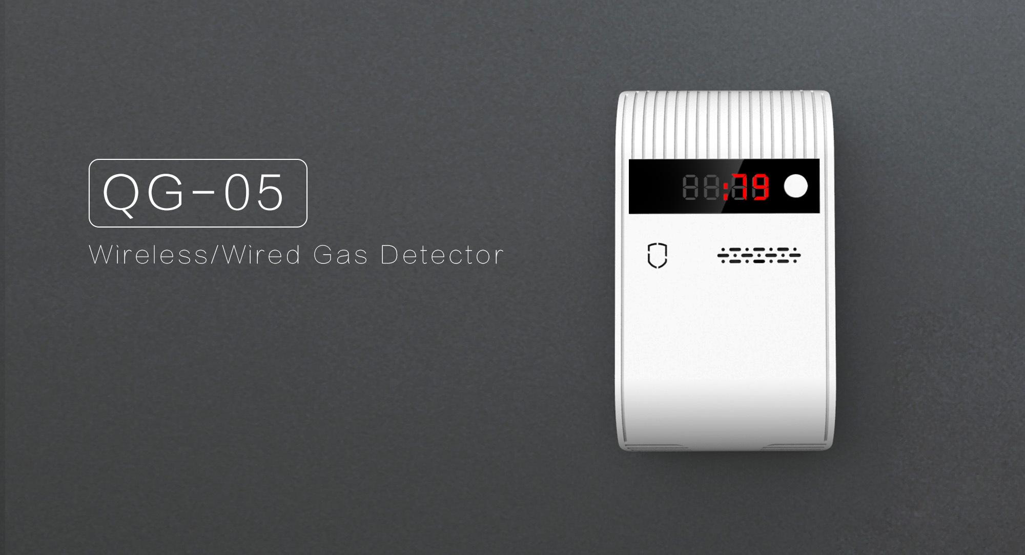 Wireless/Wired Smoke Detector/ Sensor