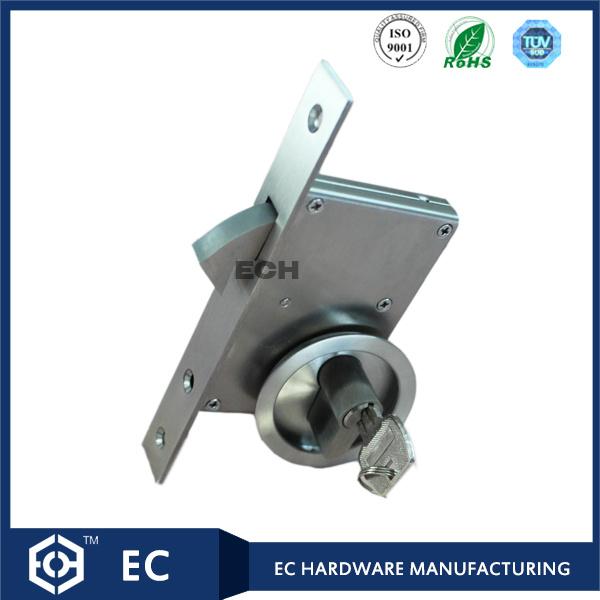 30-50mm Stainless Steel 304 Sliding Door Lock with Handle (RML-23)