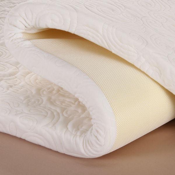 Factory Price High Density Travel Memory Foam Mattress Topper, Vacuum Pack