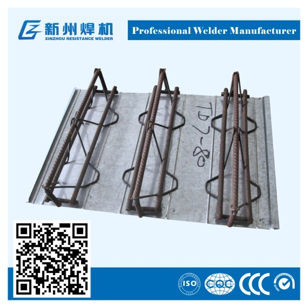 Steel Bar Truss Decking Plate Welding Production Line
