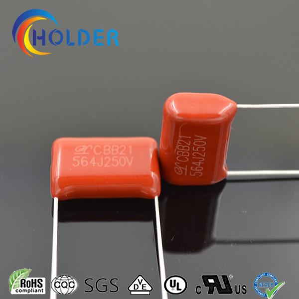 Capacitor (Cbb21 564j/250V P=15 Polypropylene) for Appliance Circuit Board