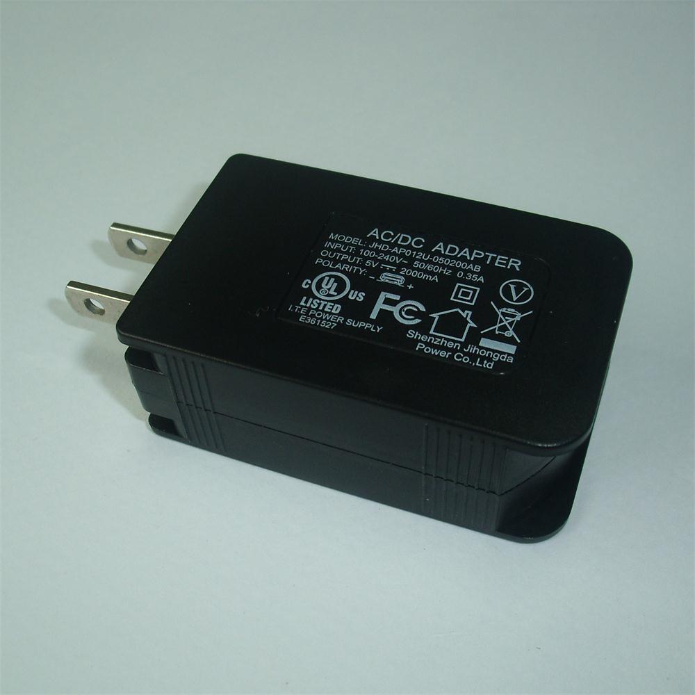 5V2.1A UL Plug Mobile Phone USB Chargers