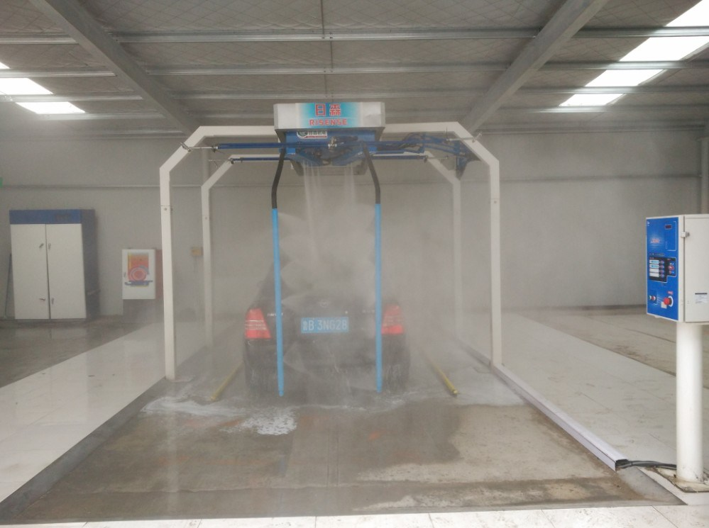 Automatic Touch Free Car Wash and Touchless Car Washer