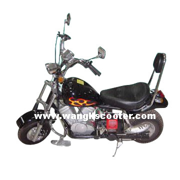China gas powered motorized scooter wl a098a china for Gas powered motorized scooter