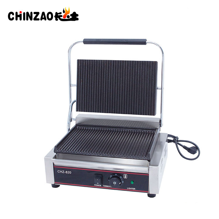 Hot Sale Commercial Panini Grill Sandwich Maker Griddle with Ce