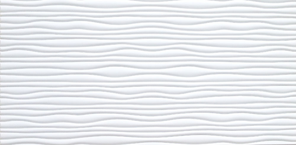 White 3D Decorative Wall Panel