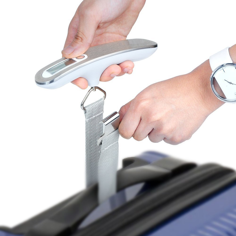Electronic Portable Luggage Scale with Hook and Strap
