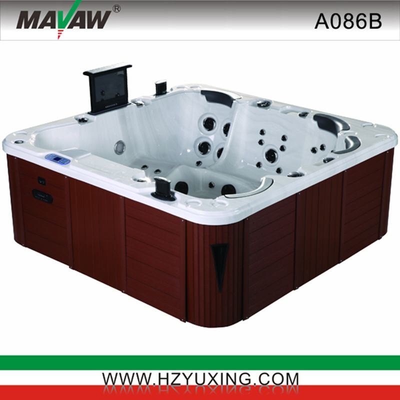china six persons outdoor jacuzzi hot tub a086b china. Black Bedroom Furniture Sets. Home Design Ideas