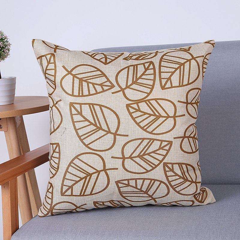 Digital Print Decorative Cushion/Pillow with Geometric Pattern (MX-61)