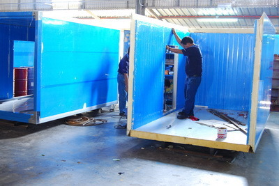 FRP Fiber Glass Panels for Trucks