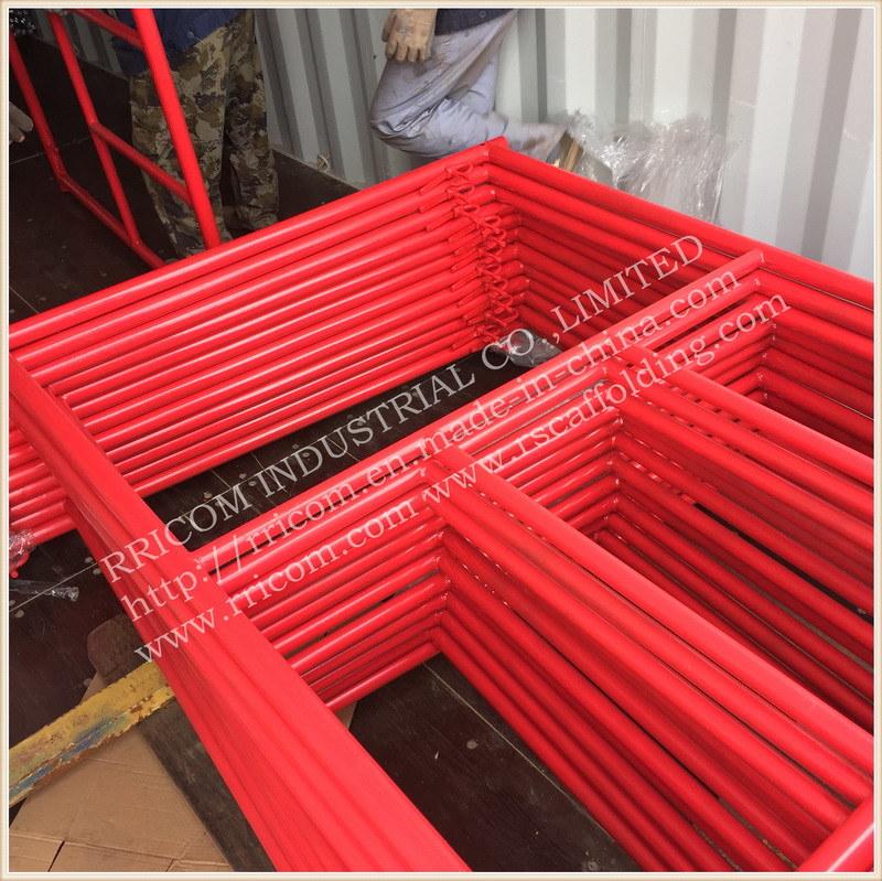Construction American Scaffold Frame /Ladder Frames Scaffolding