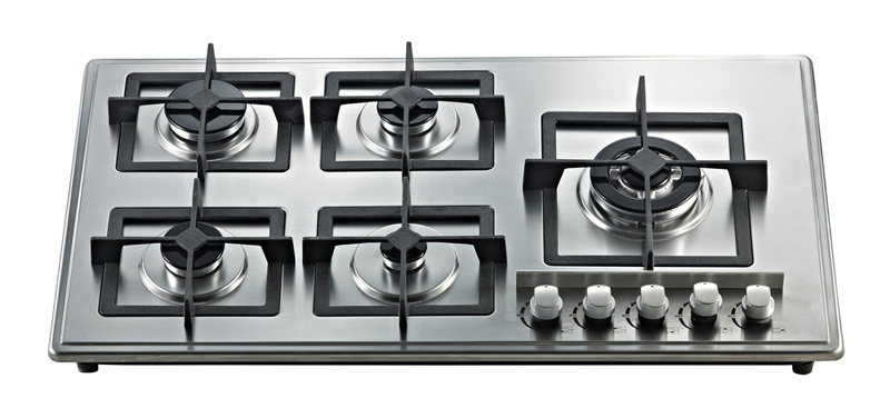 Build-in Gas Hob with Five Cast Iron Burner Jz5-Oh-Az02