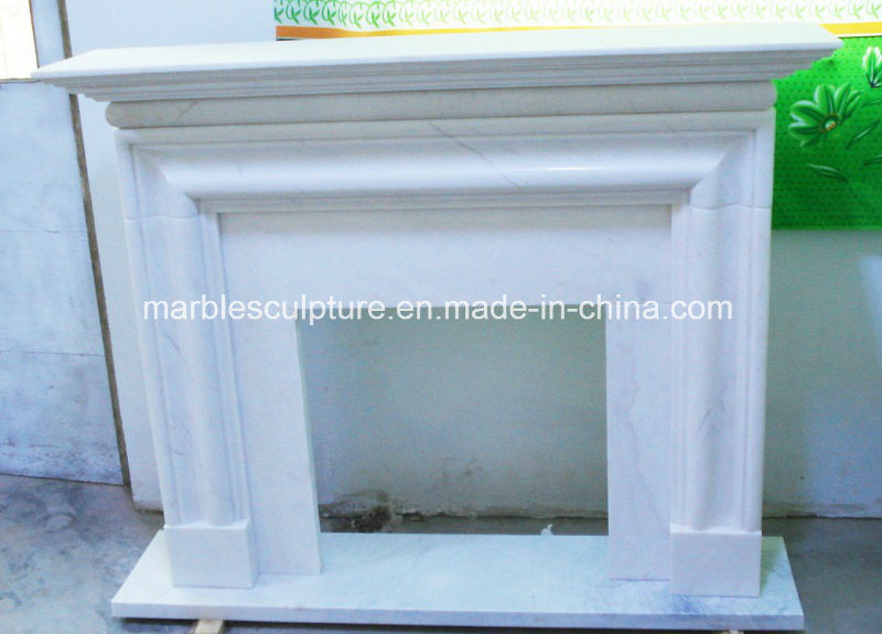 Factory Sell Simple Design Marble Fireplace (SY-MF133)