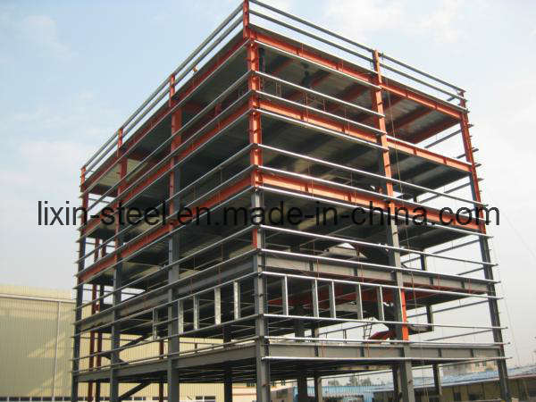 Multi-Floors Steel Structure Frame for Shopping Mall