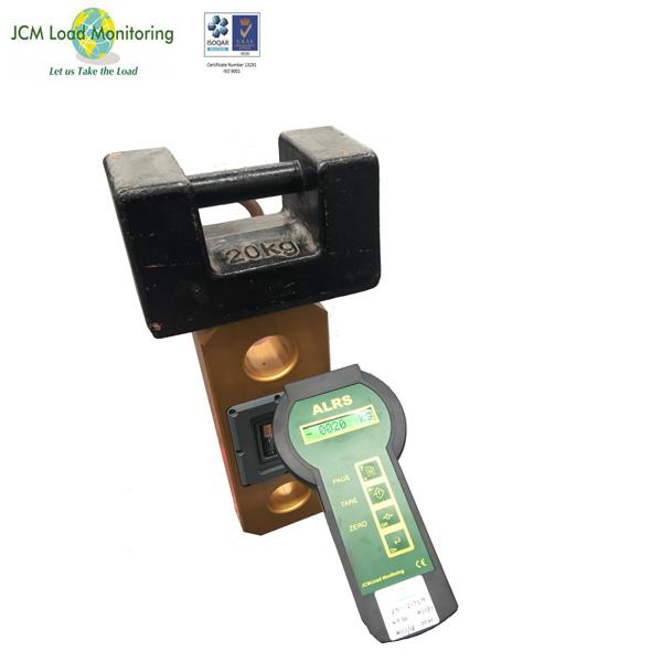 75t/750kn Wireless Pad Eyes Type Shackle Link Crane Scale Sensor