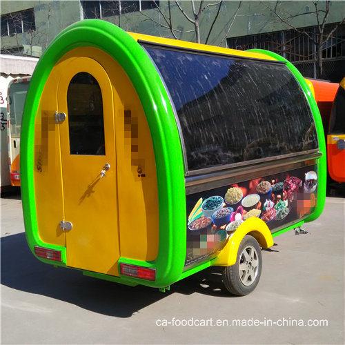 Customized BBQ Street Vending Mobile Food Cart