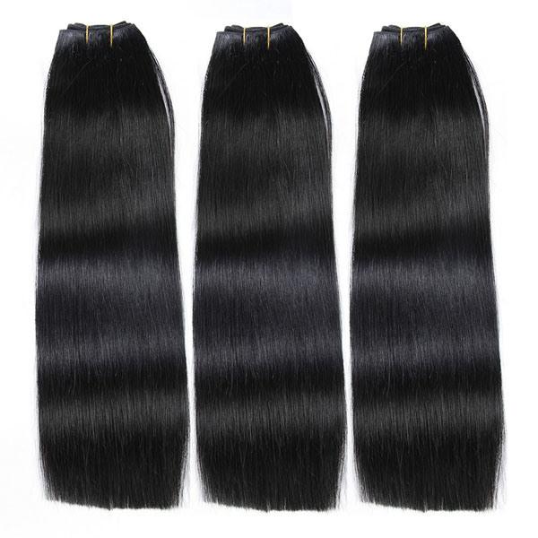 Ladder Order Weft Virgin Unprocessed Peruvian/Brazilian/Indian/Russian/European Human Hair Extension