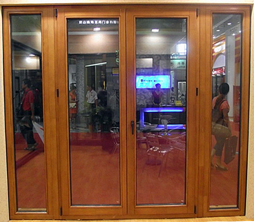 2012 New Design Aluminum Wood Casement Door (TS-227) Photos & Pictures
