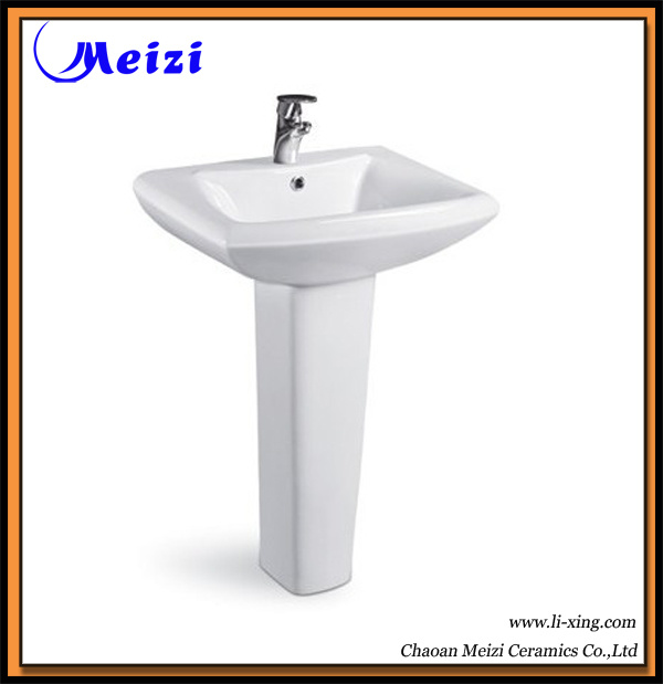 Pedestal Bathroom Wash Basin (M-0201) - China Basin, Washbasins