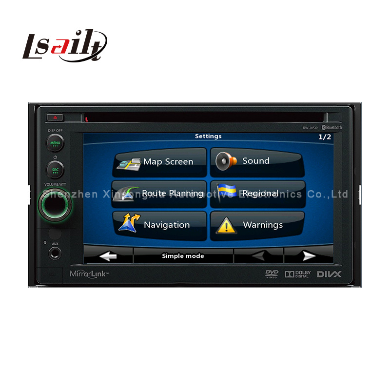 Car Android GPS Navigation Box for Jvc/Sony/Pioneer DVD Play (800*480)