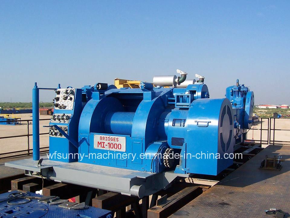 Bw 250 Horizontal Triplex Piston Mud Pump Driven by Caterpilliar