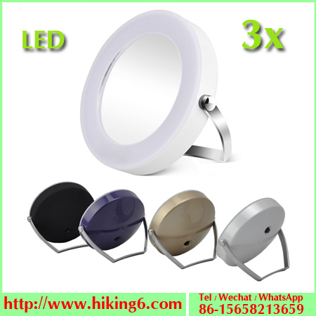 Make up Mirror with LED Lights, 3X Magnified Mirror