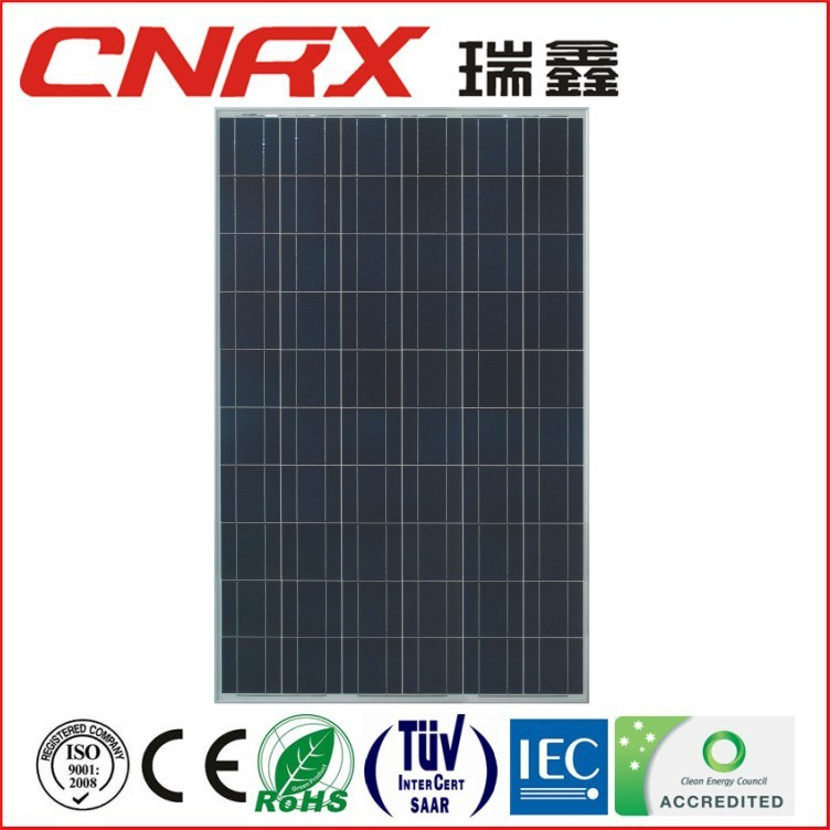 260W A Grade Cell High Efficiency Poly Solar Panel with TUV Ce