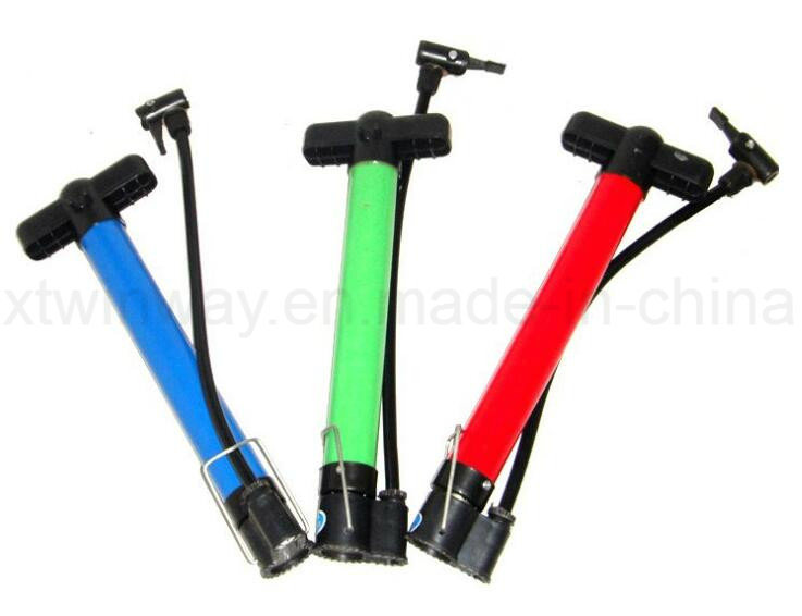Bicycle Parts Mini Plastic Bicycle Pump for All Bicycle