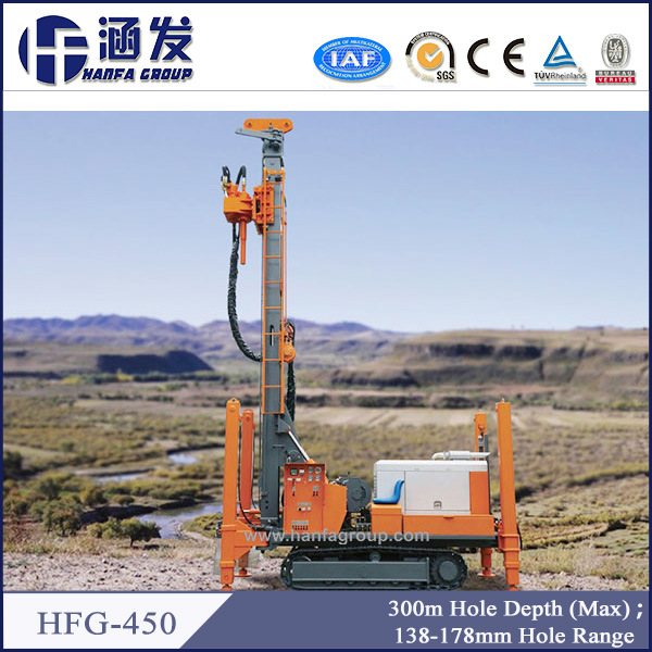 Famous Hfg-450 Crawler Water Drilling Machine