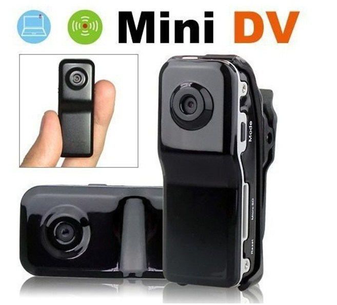 New 2014 Black Sports Video Md80 Webcam Web Cam Hot Selling Mini DVR Camera & Mini DV