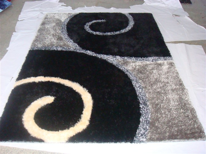 Anti-Slip Square Tile Carpet Bathroom Decoretion Carpet