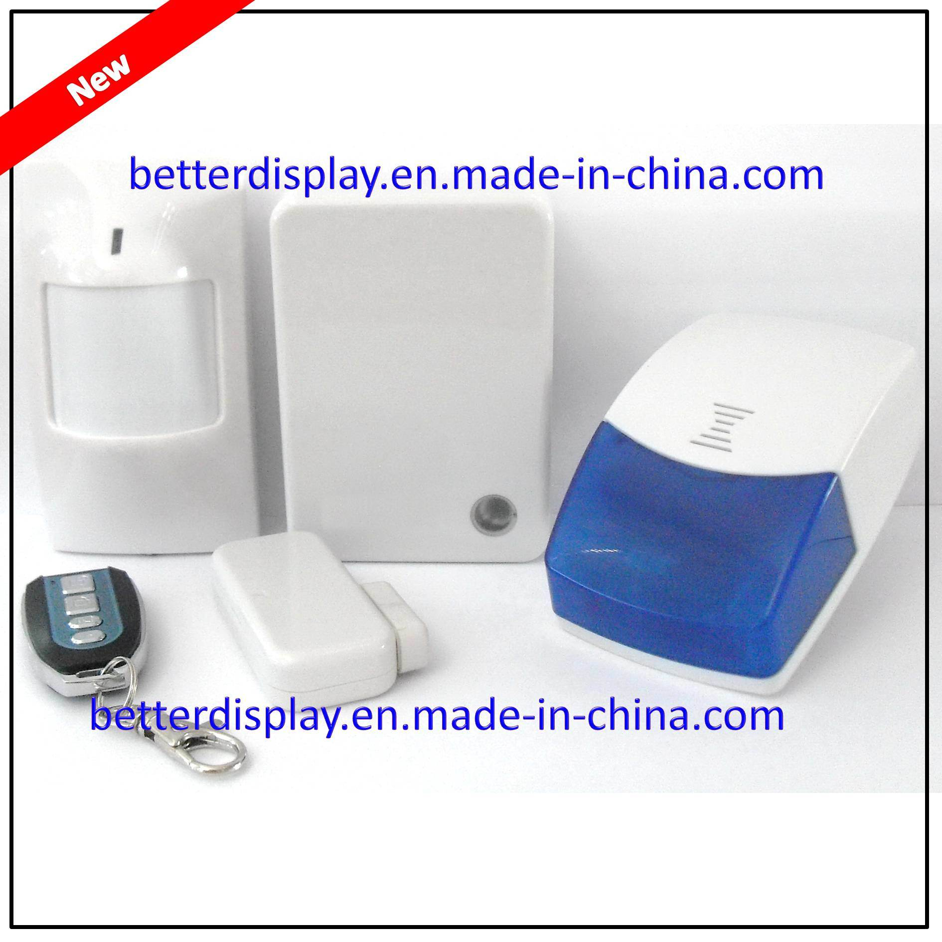 Fashionably Designed & Complete Function Finseen Cloud Based IP Alarm